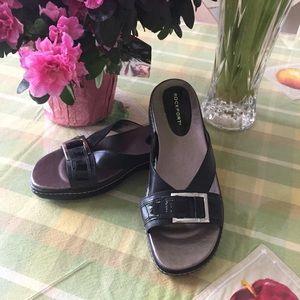NWOT Rockport Platform Sandals